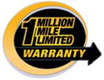 1 Million Mile Limited Warranty