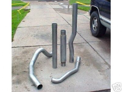 6.5 TD Aluminized 4 Inch C/K Performance Exhaust System