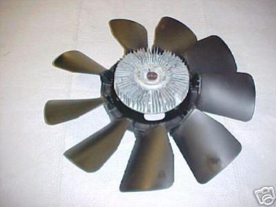 6.5 Turbo Diesel Cooling Fan Upgrade (early)