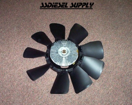 6.5 Turbo Diesel Cooling Fan Upgrade (late)
