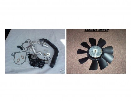 Cooling System/Fan Upgrade Combo Kit