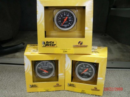 Triple Gauge Package Combo kit (92-94)