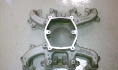 6.5TD Intake Manifold, Lower, F Engine (used)