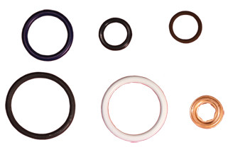 Powerstroke 6.0L Injector Seal Kit 2003-2010 (each)