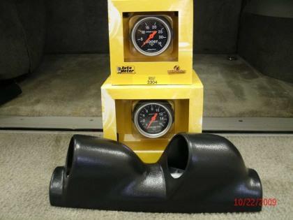 Dual Gauge Package Combo Kit, 92-2000 6.5TD C/K trucks