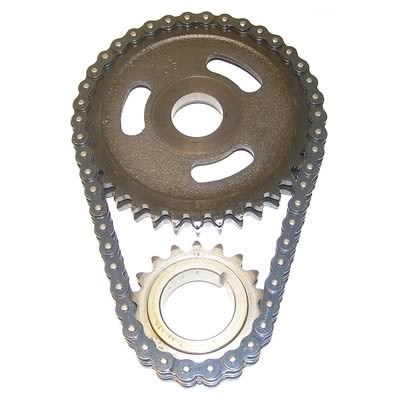 6.5TD HP Double Roller Timing Chain Set, 92-93