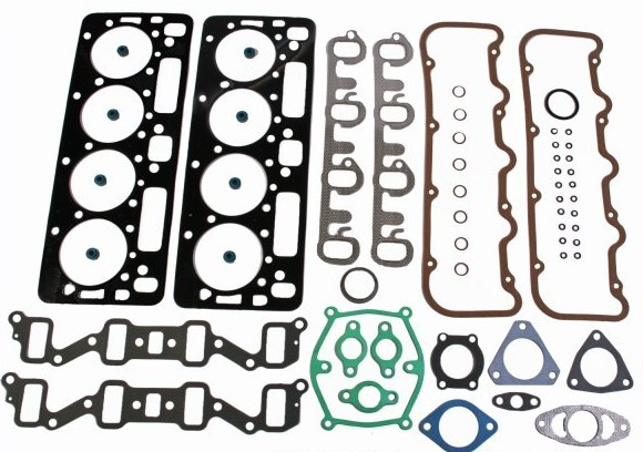 6.5 Cylinder Head Install Gasket kit WITH Head Bolts