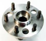 K Series 6 lug Front Wheel Bearing Hub Assembly w/o ABS