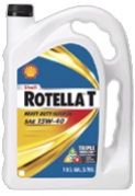 Shell Rotella-T 15W-40 Diesel Engine Oil/gallon